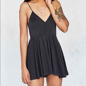Grey Romper from Urban Outfitters